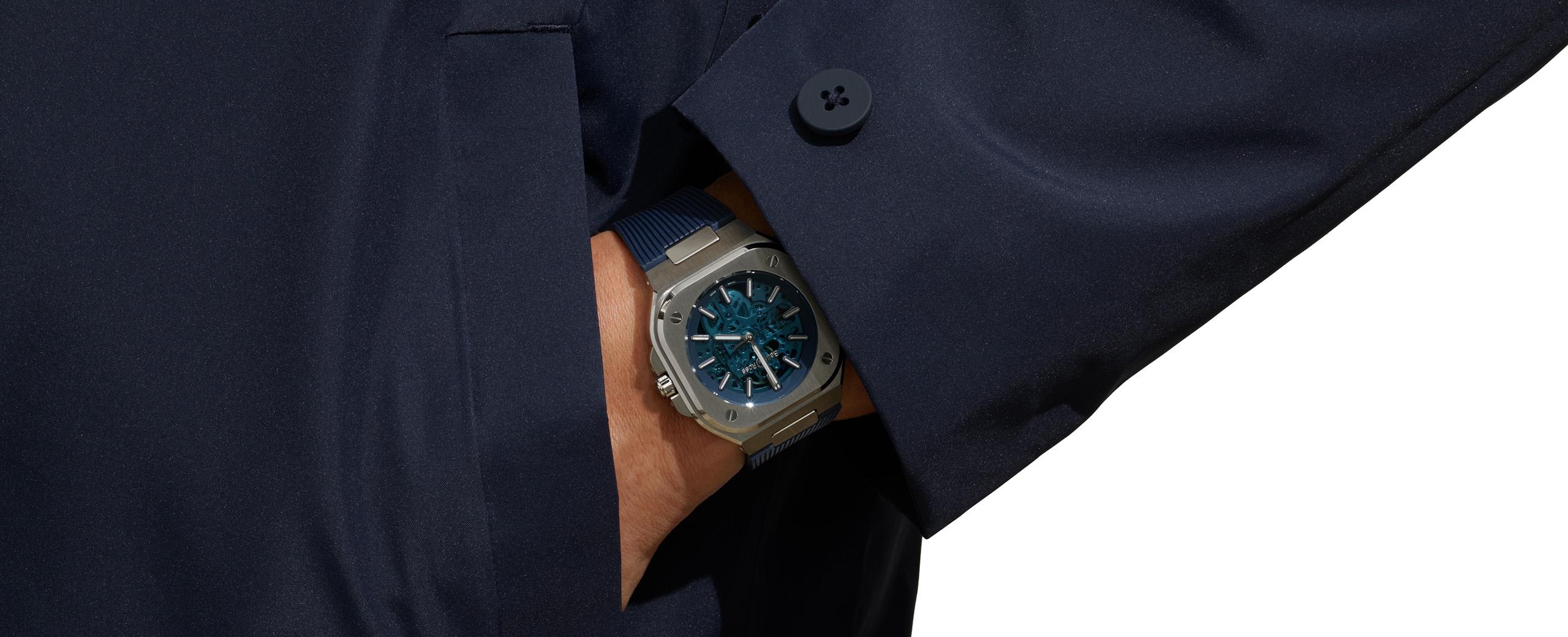 BR 05 SKELETON BLUE