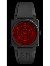 BR 03-92 RED RADAR CERAMIC