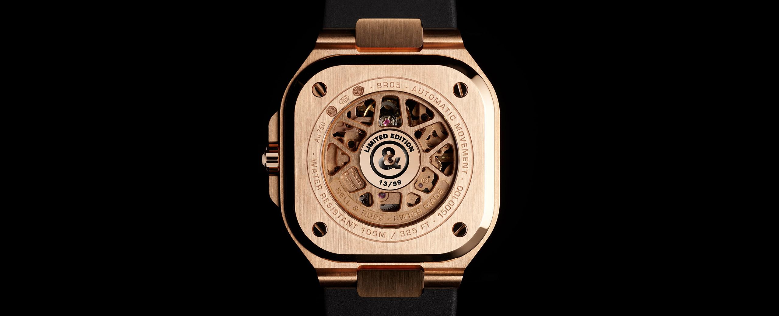 BR 05 SKELETON GOLD