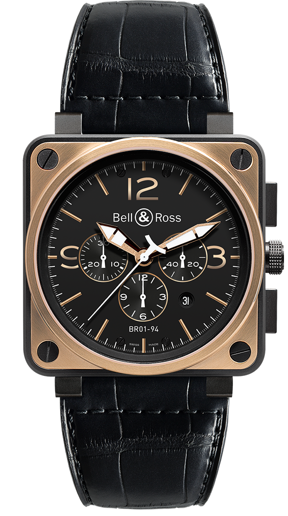 BR 01-94 ROSE GOLD & CARBON OFFICER