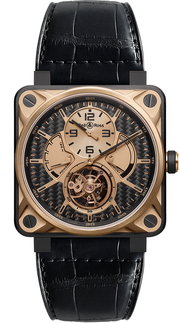 BR 01 TOURBILLON ROSE GOLD & TITANIUM