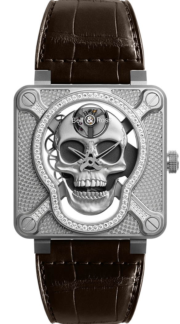 BR 01 LAUGHING SKULL LIGHT DIAMOND