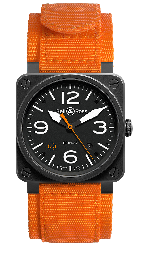 BR 03-92 ORANGE CARBON