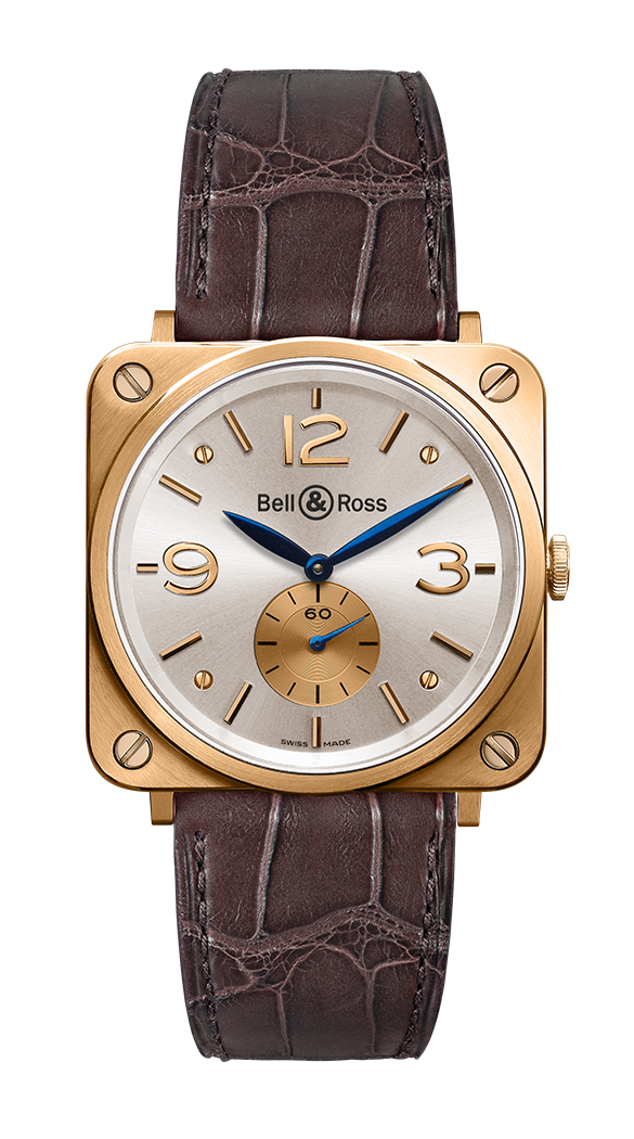 BR S ROSE GOLD PEARL DIAL