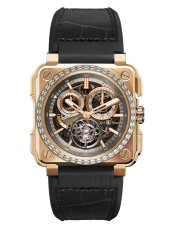 BR-X1 TOURBILLON ROSE GOLD DIAMONDS