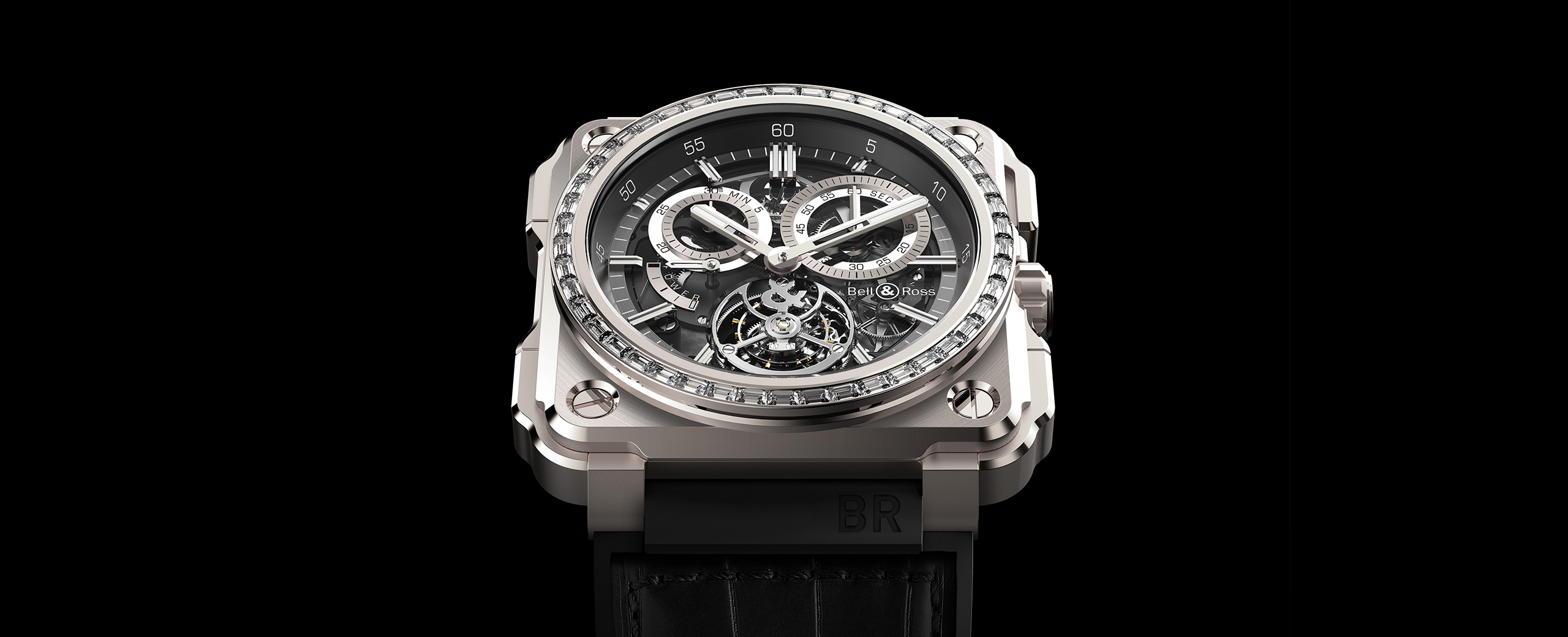 BR-X1 TOURBILLON TITANIUM DIAMONDS