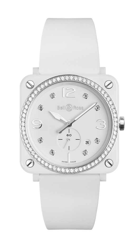 BR S WHITE CERAMIC DIAMONDS