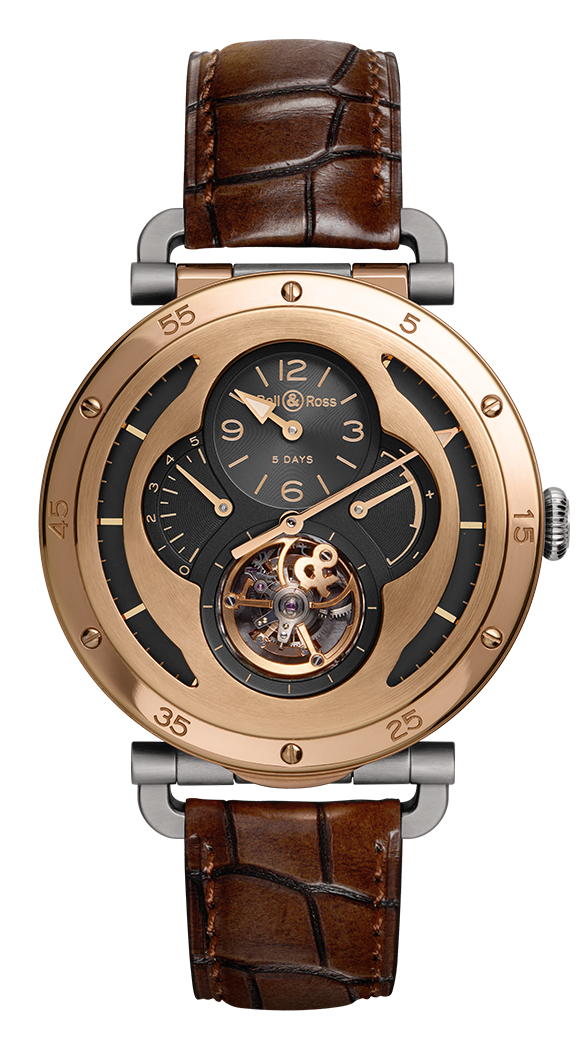 WW2 MILITARY TOURBILLON ROSE GOLD