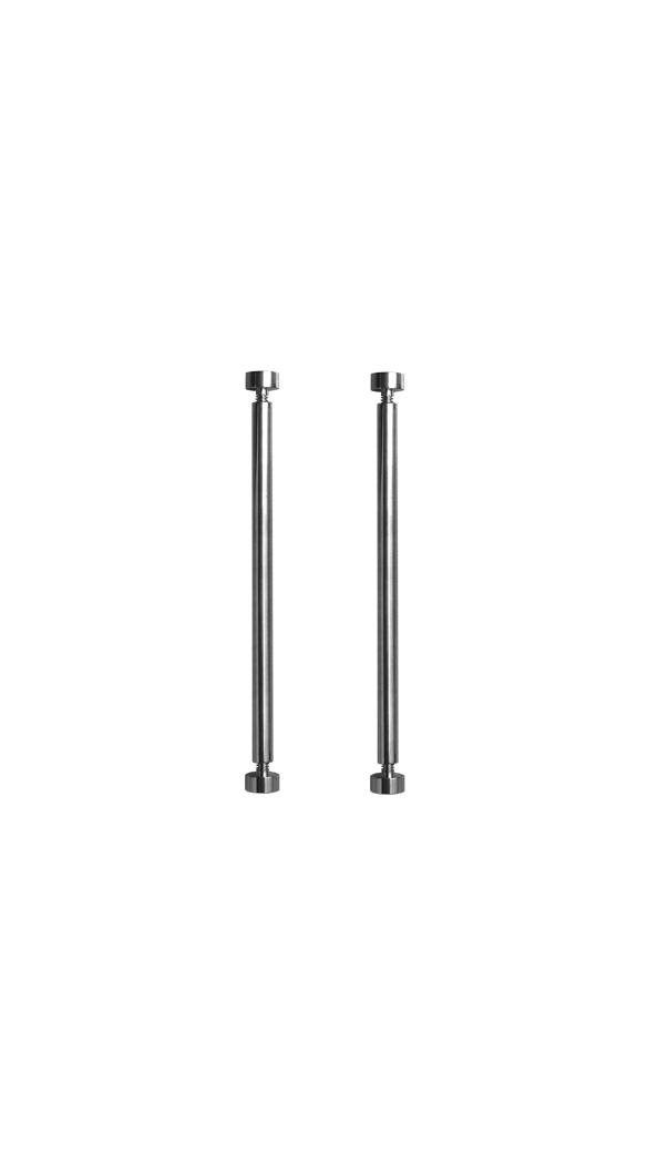 Set of screws and tubes for titanium BR 01