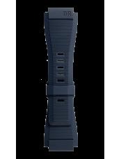 Bracelet en caoutchouc strié bleu  BR 01 - BR 03 - BR-X1