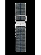 Cinturino cinghia elastica grigea e blu BR 123 - BR 126 - BR V2 - BR V3