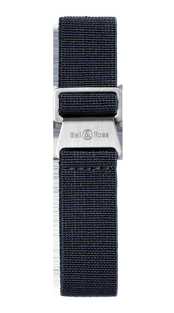 correa elástica azul para relojes BR 123 - BR 126 - BR V2 - BR V3