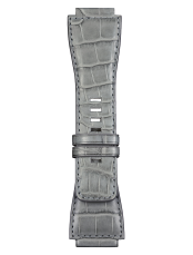 BR-X1 - BR 01 - BR 03 grey alligator strap