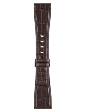 BR S brown alligator strap