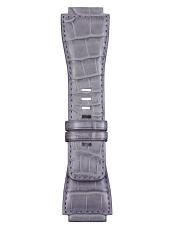 BR-X1 - BR 01 - BR 03 grey/blue alligator strap
