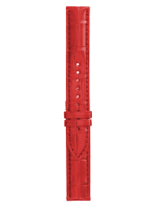 WW1 red alligator strap