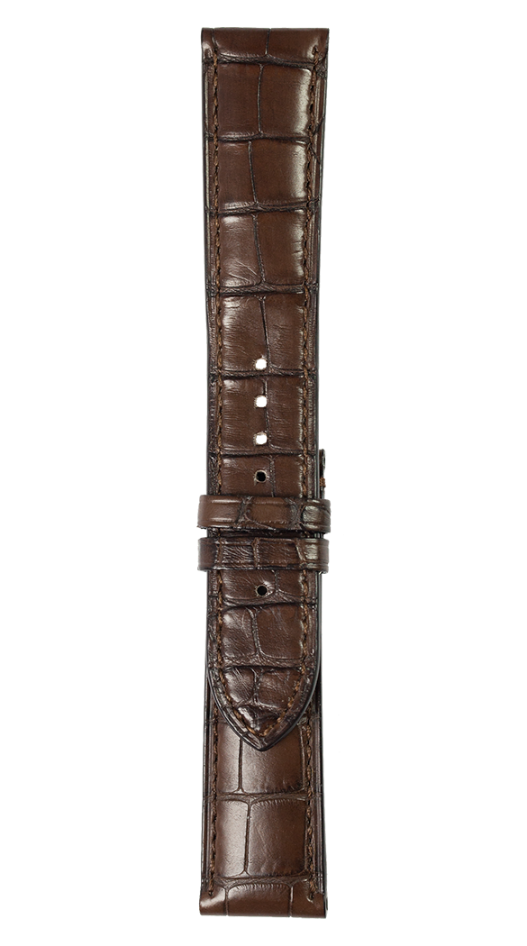 WW1 brown alligator strap