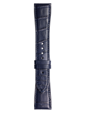 BR 123 - BR 126 - BR V2 Blue alligator strap