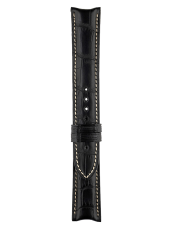 Vintage - Geneva - Function black alligator strap.