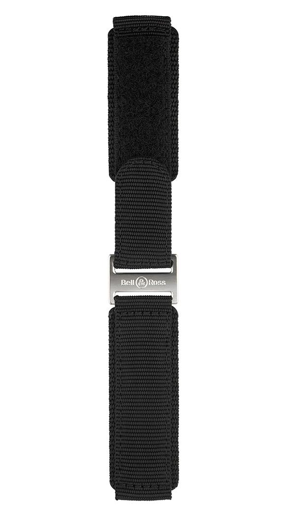 Professional系列黑色合成织物表带。