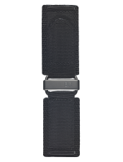 BR-X1 - BR 01 - BR 03 black synthetic fabric strap