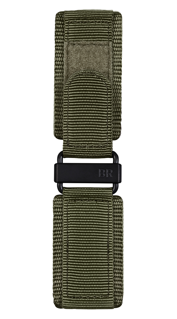 BR-X1 - BR 01 - BR 03 khaki synthetic fabric strap