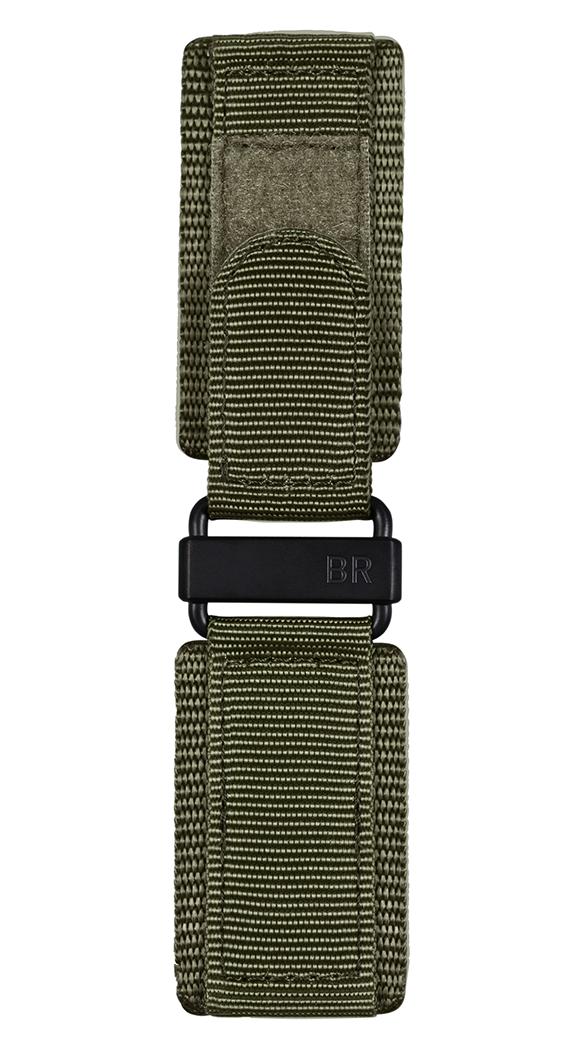 Armband aus kakifarbener Kunstfaser BR-X1 - BR 01 - BR 03.