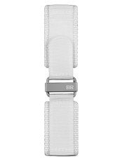 BR-X1 - BR 01 - BR 03 white synthetic fabric strap