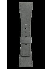 Grey Alcantara® strap