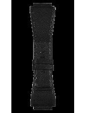Armband aus schwarzem Fischleder BR-X1 - BR 01- BR 03.