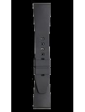Bracelet en caoutchouc noir BR 123 - BR 126 - BR V2
