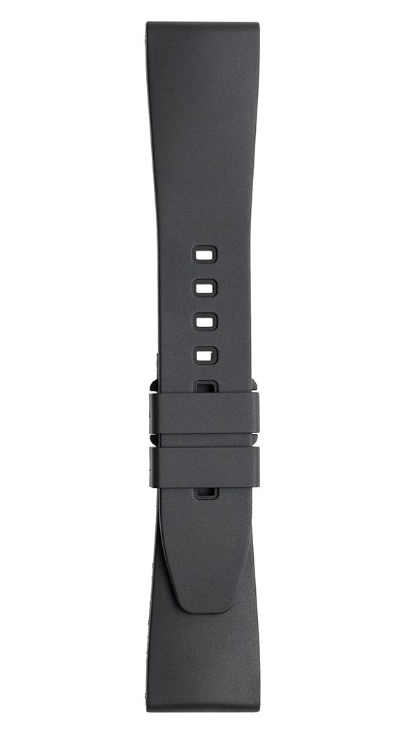 BR 123 - BR 126 - BR V2 검정색 고무 스트랩.