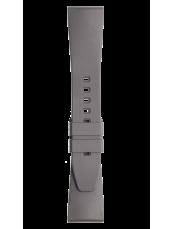 Bracelet en caoutchouc gris BR 123 - BR 126 - BR V2