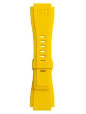 BR-X1 - BR 01 - BR 03 노란색 고무 팔찌입니다.