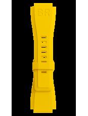 BR-X1 - BR 01 - BR 03 黄色のゴム製のブレスレット。
