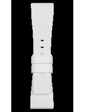 BR S 흰색 고무 스트랩