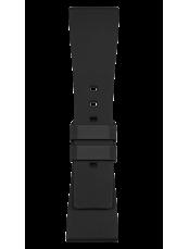 Bracelet en caoutchouc noir BR S