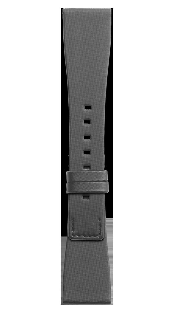 BR S black satin strap
