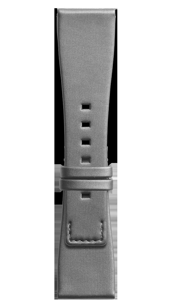 BR S grey satin strap