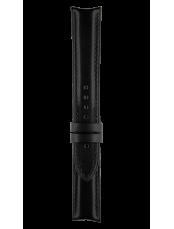Vintage black calfskin strap
