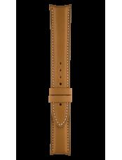 Bracelet en veau marron moyen Vintage