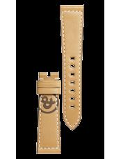 Bracelet en cuir de veau de couleur naturelle - BR 123 - BR 126 - BR V2