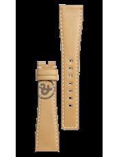 Bracelet en cuir de veau de couleur naturelle Heritage BR S