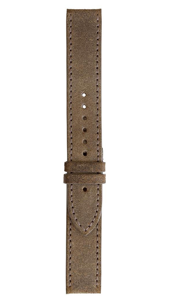 Correa de piel de becerro envejecida para relojes Military WW1.