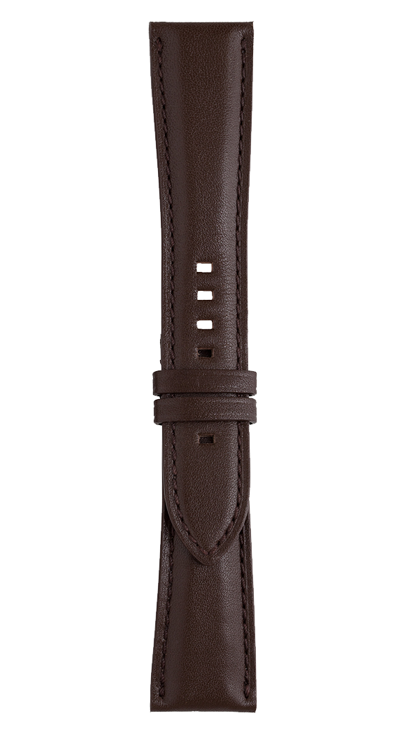 BR 123 - BR 126 - BR V2 brown calfskin strap