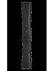 BR 123 - BR 126 - BR V2 검정색 송아지 가죽 스트랩.