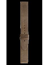 Bracelet en cuir de veau vieilli Military WW2
