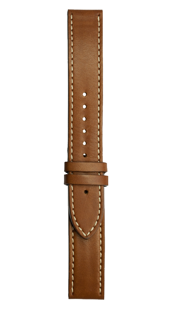 WW1 brown calfskin strap