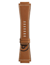 BR-X1 - BR 01 - BR 03 Golden Heritage小牛皮表带。