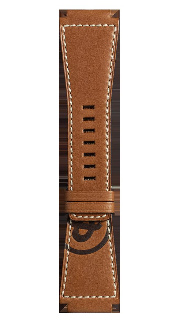 Correa de piel de becerro para relojes Golden Heritage BR-X1 - BR 01 - BR 03.